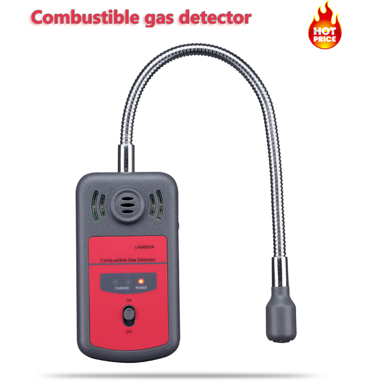Portable Digital Formaldehyde Tester for PPM HTV Methanol Concentration Monitor Detector with Sound Light Alarm