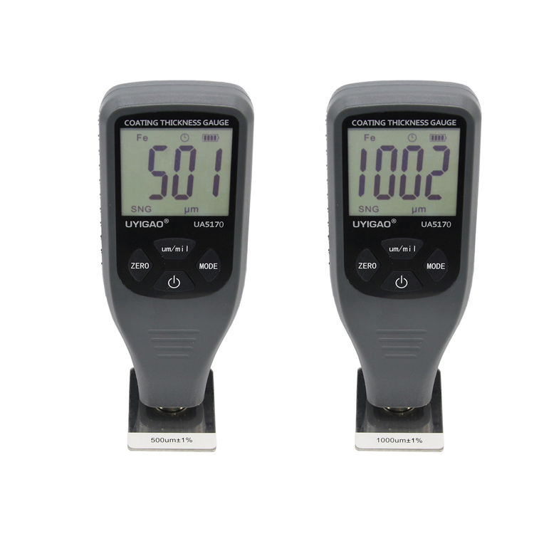 Coating thickness gauge 0-1300 um tester digital paint thickness meter