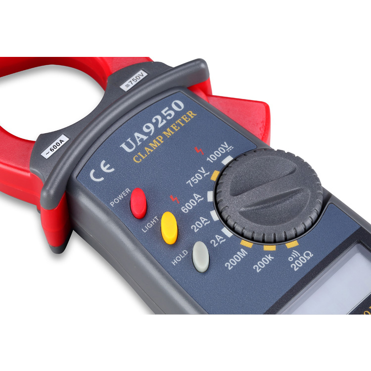 Low price 1000A current tester clamp on meter clamp-on ammeter digital tong tester ua9250